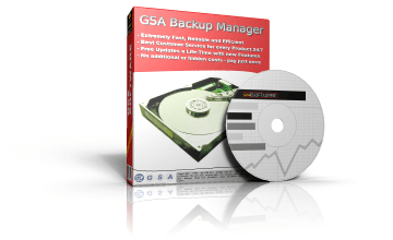 GSA Backup Manager box