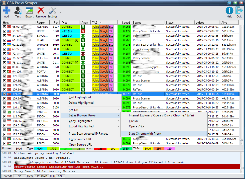 Free Socks Proxy Software - Fresh proxy for Twitchy cheat viewers