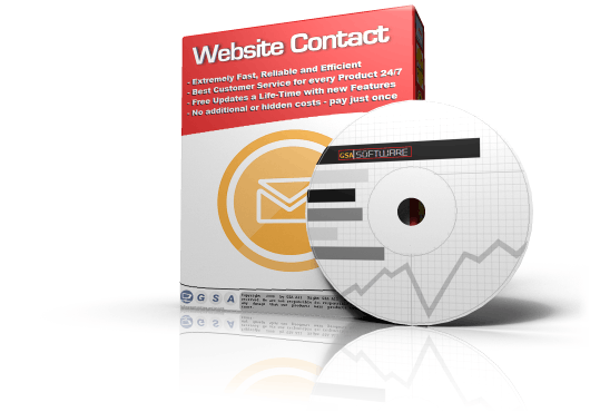 GSA Website Contact box